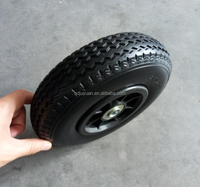 8*2.80/2.50-4 ' HIGH QUALITY PU FOAM FLAT FREE PUNCTURE PROOF SOLID WHEEL