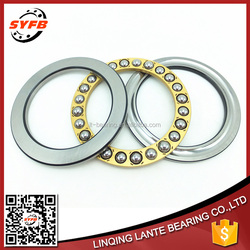 China gold supplier thrust ball bearings F4-10 with ungroove washers