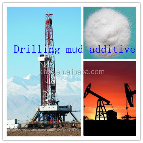Low cationic polyacrylamide as drilling mud additives