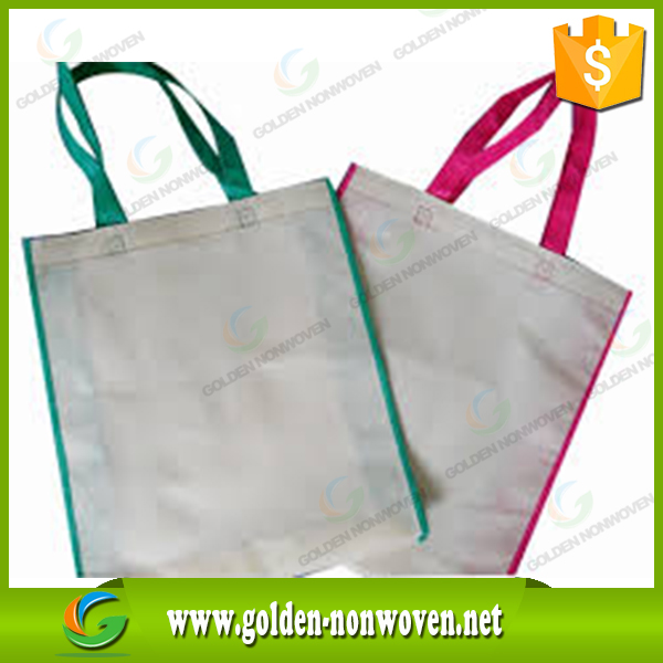 Cheap reusable non woven cloth shopping carrying bag/Promotion Nonwoven Shopping Bag/pp non-woven tote bags