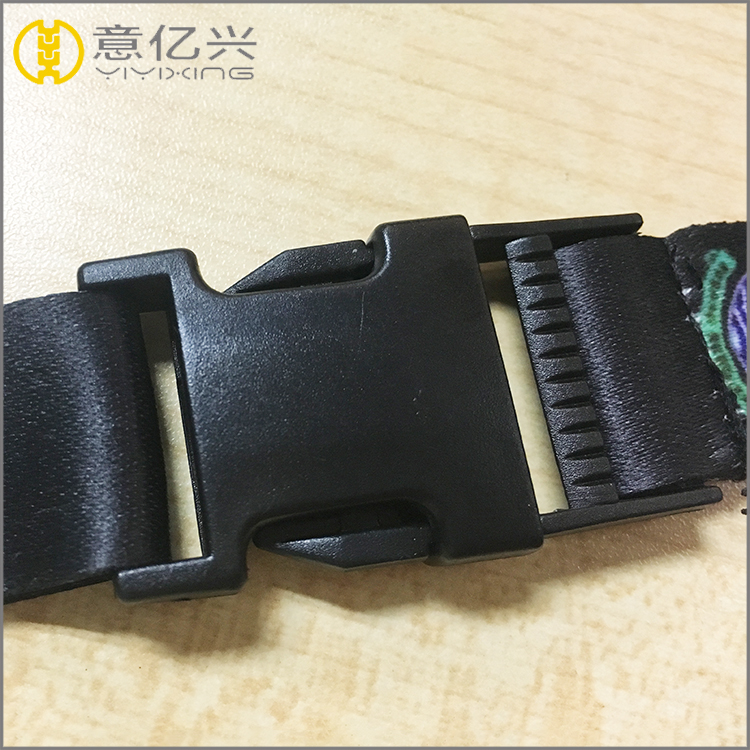 Custom bag insert plastic key lock buckles backpack strap buckle
