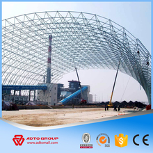 Special Offer Heavy Duty Portal Steel Frame Structure Design Drawings Prefab Building For Cement/Power/Coal Plants Factory