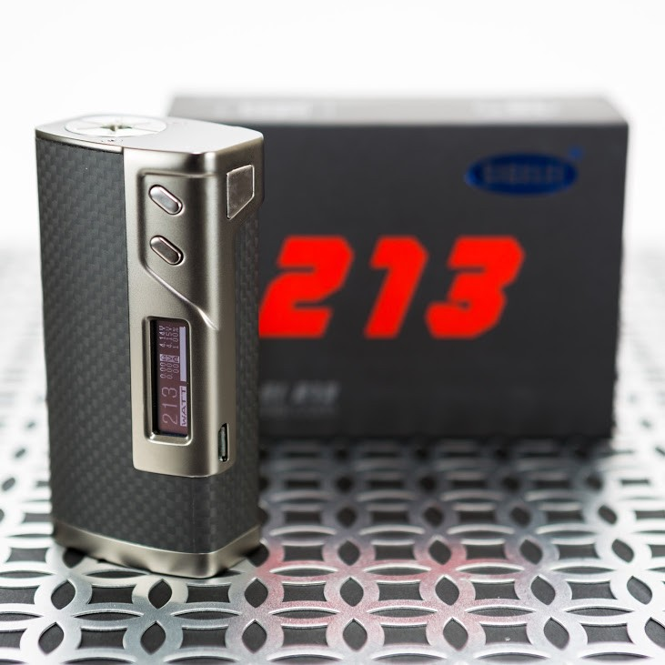 Sigelei 213 carbon fiber 10-213w powerful box mod diamond e-cigarette