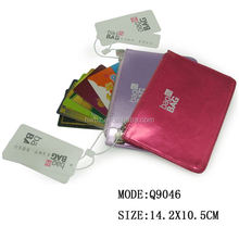 Top grade money holder fashion quality pu material coin purse