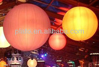multi-colors hot sale illuminating inflatable balloons, orbs
