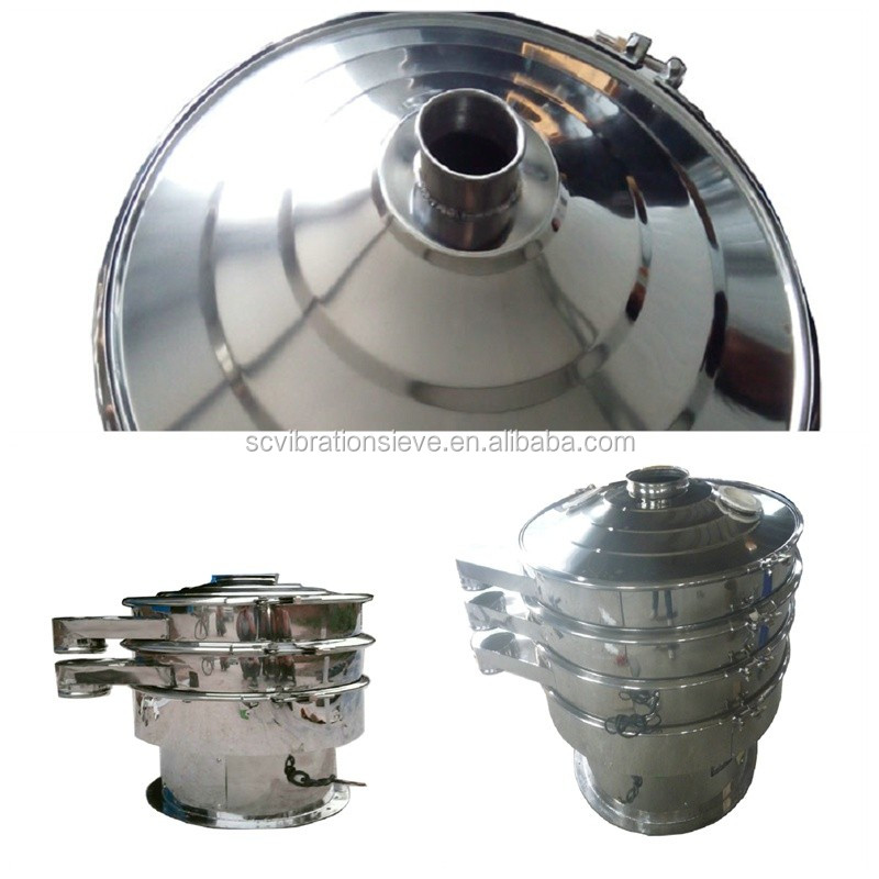 round high standard stainless steel rotary screen machine for breadfruit sieving