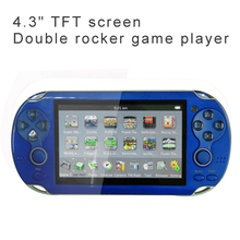 4.3 inch TFT screen download games for mp4 mp3 game player With FM stereo radio