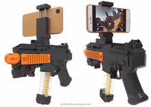 2017 innovative product shooting AR game gun toy for mobile phone with bluetooth