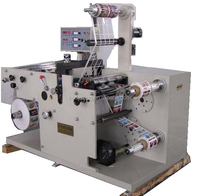 Rotary Die Cutting Machine with slitting function for self adhesive labels