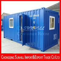 Sunhill Single Layer sandwich panel modern 20ft container room/home/house