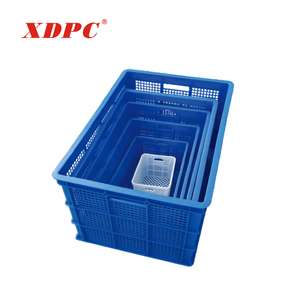 Wholesale warehouse plastic storage box produce bins for sale