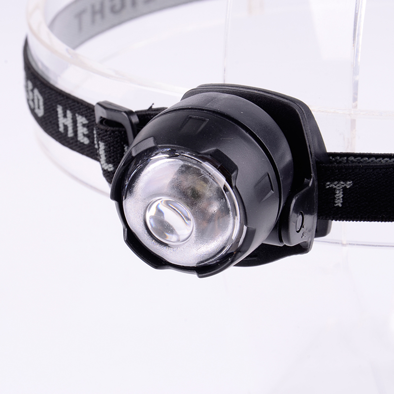 China Best 1W Plastic Adjustable Gift No Switch Children Headlight With Clip