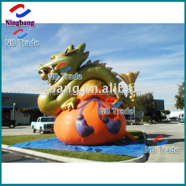 NB-CT20305 Ningbang advertising outdoor giant inflatable dragon