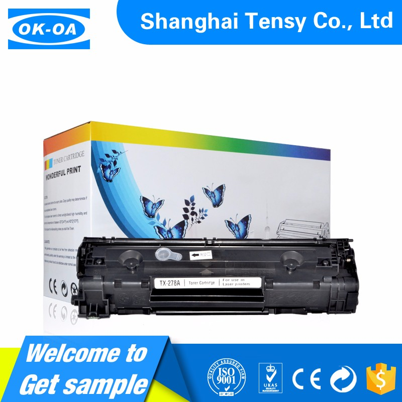 Let us help you to find a Good gift high margin products CE278A P1566/P1606 Black toner cartridge compatible For HP