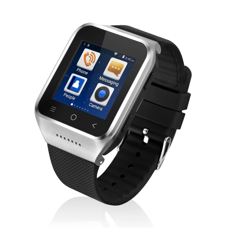 Cheapest Wifi HD camera 3G WCDMA android 4.4 GPS smart watch phone