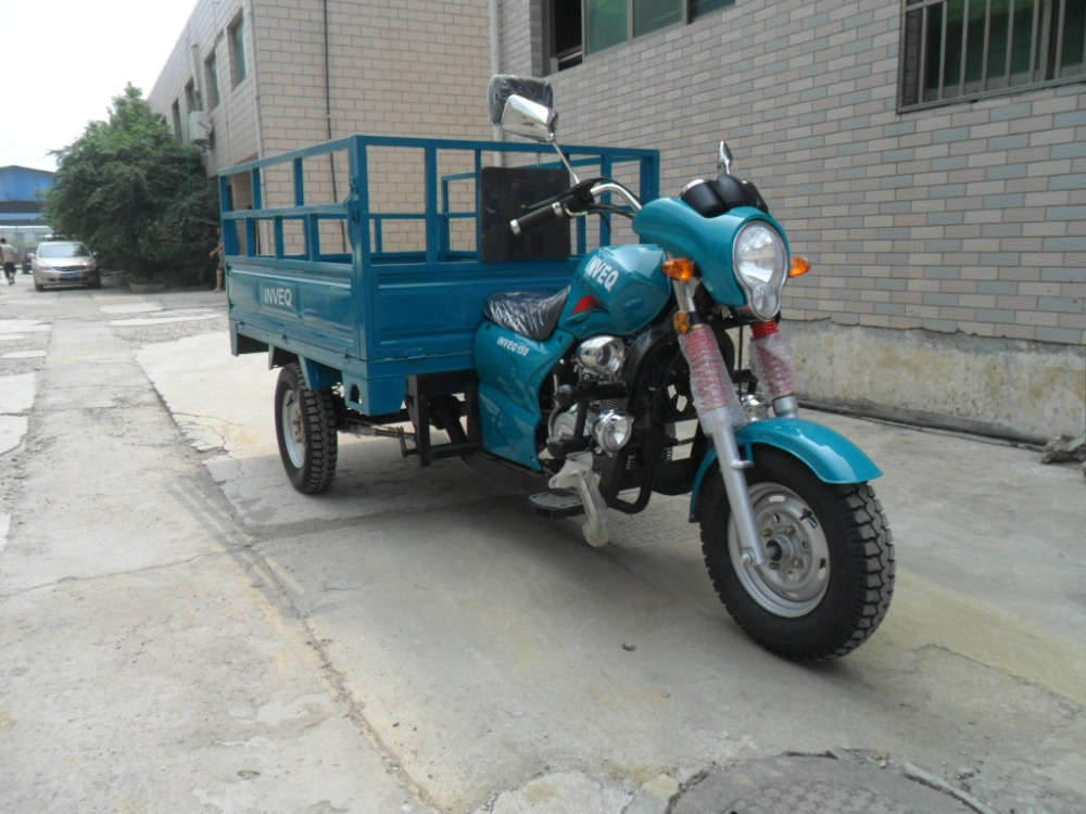 200CC hot sale three wheel motorcycle and high quality cargo tricycle with EEC certificate