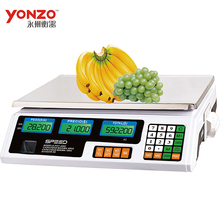 Yz-208 40kg Colorful housing LED display 6v battery electronic balance weighing scale circuit