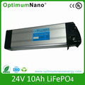 OptimumNano 24v 10ah lithium ion ebike battery