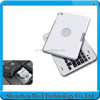 Multifunction 360 degree rotating case with bluetooth keyboard for iPad Air2