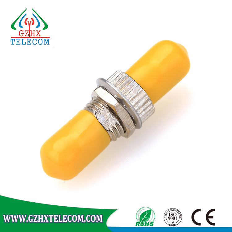 High stability wholesale ST simplex Fiber Optic Adapter Adaptor with cheap price