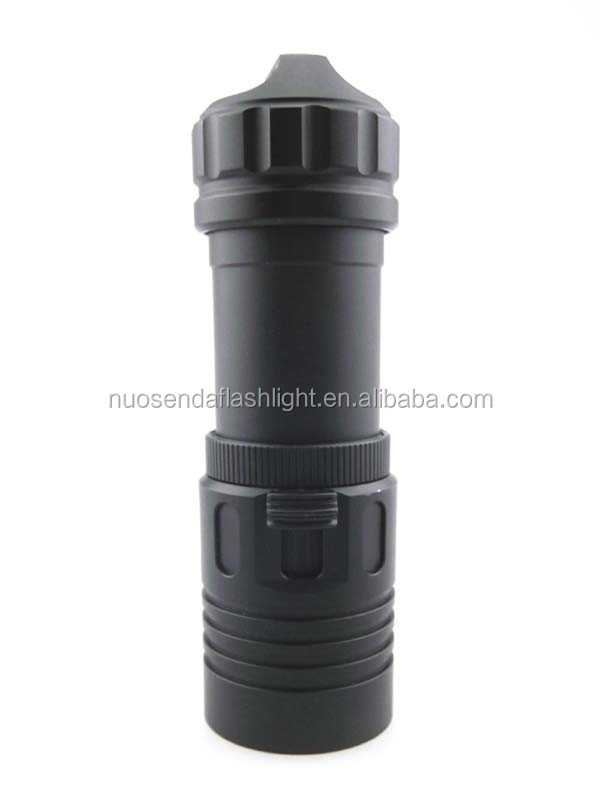 D186 1xCREE XM-L2 <strong>U2</strong> 1200lm LED <strong>Diving</strong> Flashlight (1x26650)