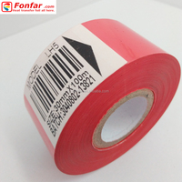 30mm * 100m Red Code Dating Foil for Damp and Cold Envirement