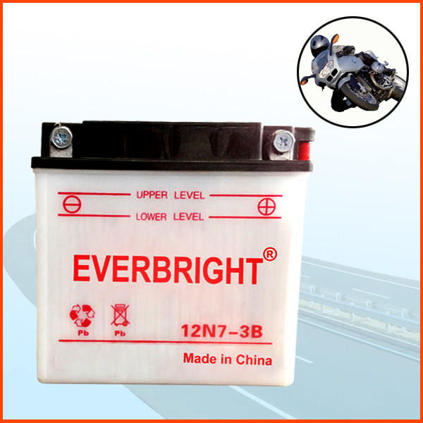 Short delivery time steady working 12v 7ah dry charged long recycle life tricycle battery wholesale