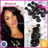 Hot New Hair Styling Products 2015 Factory Direct No Shedding Wholesale Nice Look Top Grade Indian Body Wave 100 Human Hair