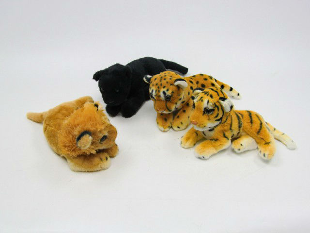 customized Stuffed Plush simulation tiger cub animal toy