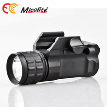 LED Tactical Gun Flashlight 250LM Pistol Handgun Torch Light for Hiking,Camping,Hunting