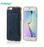 Cheap Mobile Phone PU Leather wallet case for iPhone6