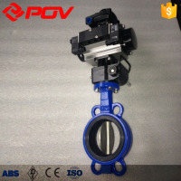 cast iron wafer butterfly valve handles
