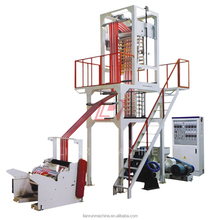 Extruder plastic hdpe ldpe film blowing machine blown extrusion