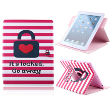 For iPad 5 case Ultra Thin Beautiful Cute Prin Flip PU Leather Wallet Case with card holder