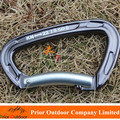 New Developed Professional climbing carabiner 22KN D carabiner hook for downhill rock climbing carabiner for dog leash