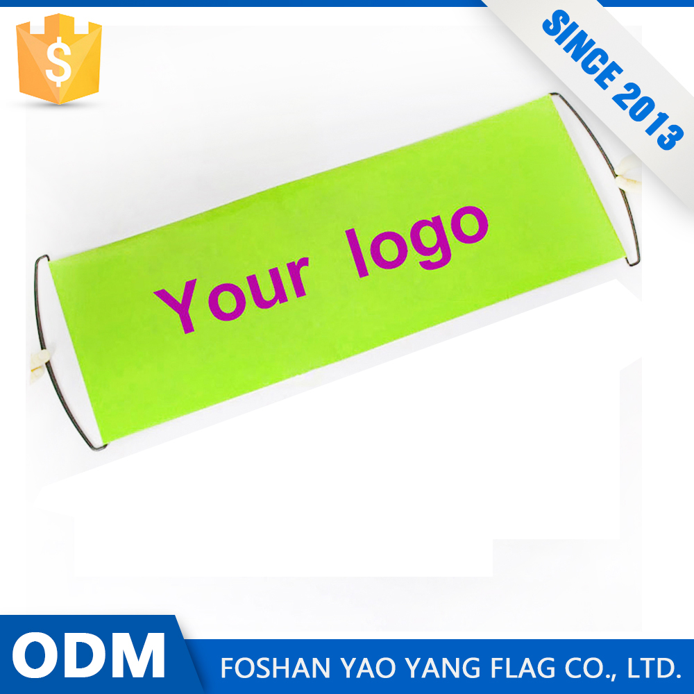 Alibaba China Hot Selling Custom Hand Held Roll Up A Banner