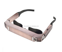 3D Mobile Theater 80Inch Smart Glasses Android Video Glasses with Wifi Camera Bluetooth