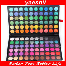 YAESHII Good selling Private label cosmetics OEM accept matte color eyeshadow palette 120 colors