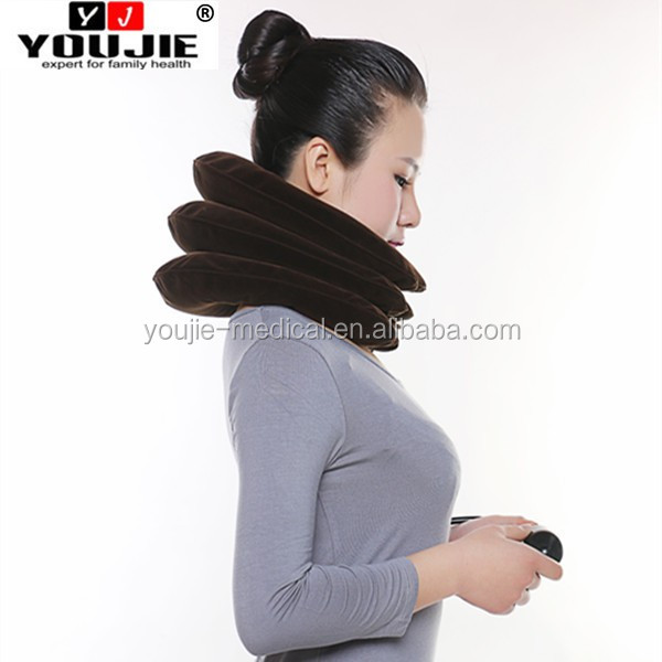 Hot Sale The Whole Flannel Neck Tube Traction Massager
