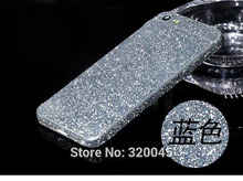 Glitter shiny foil Sticker for iphone 5S matte protective color film for iPhone5 6 flash body film shiny phone protector cover