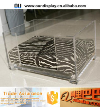 customized flooring cabin kennel cage design acrylic dog kennel cage