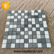 New Arrivals stone mosaic with the lava stone sky blue stone hot sale