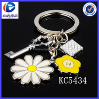 Wholesale New Fashion key and lock Ornaments metal keychains