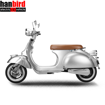 EEC/COC Vespa Electric Scooter with 2000w motor for EU Market