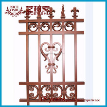 Brand new ornamental cast iron fence finials with high quality/aluminum fence/steel fence design