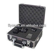 professional hard aluminum camera case with partition and lockable