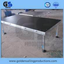 Four legs of aluminum stage for sale