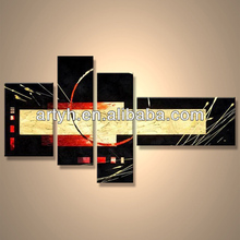 Popular Modern Handpainted Islamic Calligraphy Painting On Canvas