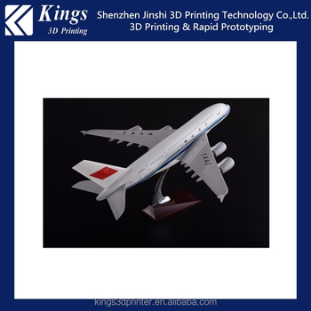 3d print model service,SLA rapid prototype printing service,airplane models