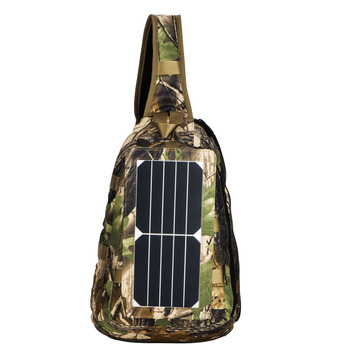 Solar Charger Backpack With 7 Watts Solar Panel for Mobile Phones, Solar Charger Backpack, Solar Bag Charger